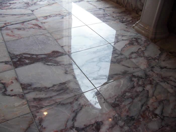 traitement de sol marbre